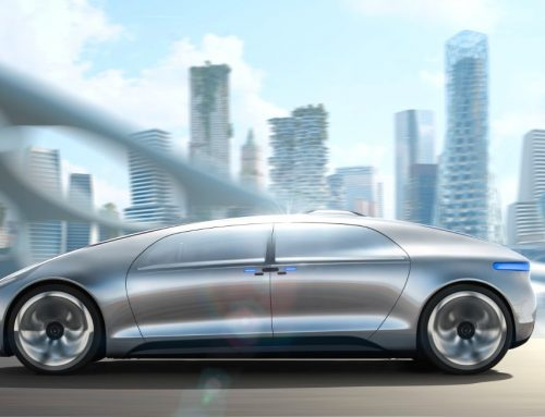 Next Hi Tech Car by Mercedes